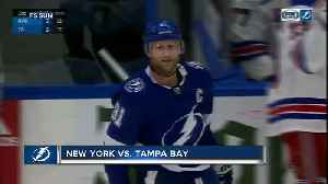 Steven Stamkos scores 3 goals as Tampa Bay Lightning beat New York Rangers 6-3 [Video]