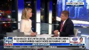 Napolitano says Kavanaugh's decision to side with liberal judges is not a surprise [Video]