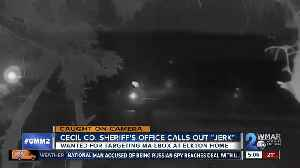 """Sheriff calls out """"jerk"""" that has been targeting Elkton mailbox [Video]"""