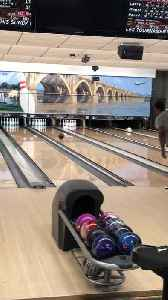So Close to Bowling a Perfect Game [Video]