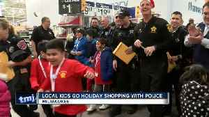 Local kids get chance to 'Shop with a Cop' [Video]