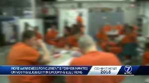 More awareness for current, former inmates on voting eligibility in upcoming elections [Video]