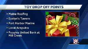 Holiday toy drive underway in South Portland [Video]