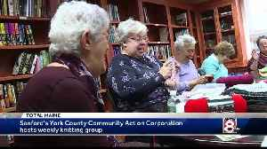 Dedicated knitters helping to keep Mainers warm this winter [Video]