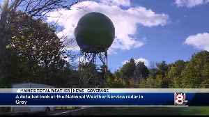 A look at the National Weather Service radar [Video]