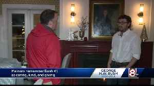 Mainers remember President George H.W. Bush as caring and giving [Video]