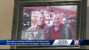 Barber reflects on time with George H.W. Bush [Video]