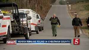 Dog finds human remains in Cheatham County [Video]