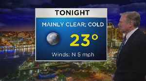 Bob Turk With Your Monday Night Forecast [Video]