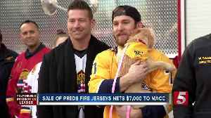 Preds player gives to local animal shelter [Video]
