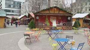 Holiday Market Sponsor Accused Of Funding Hate Groups, Signs Removed [Video]