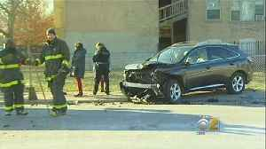 Baby Hospitalized After Minivan Crashes During Police Chase On Southwest Side [Video]