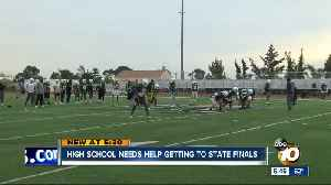 High school needs help getting to state finals [Video]
