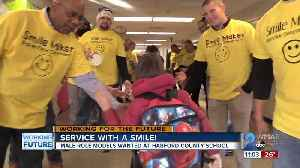 Service with a smile: Harford Co. school encourages male engagement with Smile Maker Program [Video]