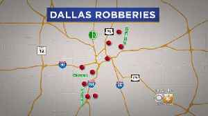 At Least 9 Armed Robberies In Dallas Area Connected; Started With Carjacking Last Week [Video]