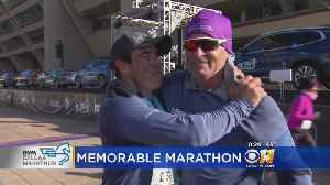 Former Green Beret Who Lost Leg In Afghanistan Completes Dallas Marathon [Video]