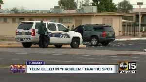 Teen struck and killed in south Phoenix while heading to school [Video]