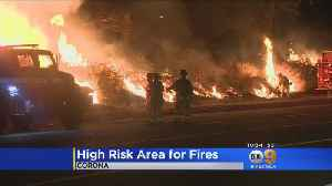 Corona Labeled As High-Risk Fire Area By Southern California Edison [Video]