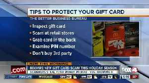 New warning of gift card scam this holiday season [Video]