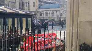 Man arrested after breaching gates of Houses of Parliament