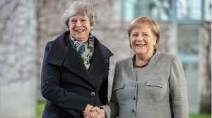 Theresa May Seeks Help From German Officials In Brexit Deal [Video]