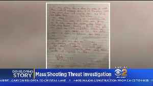 Hand-Written, Expletive-Filled Note Threatens Cal State Northridge [Video]