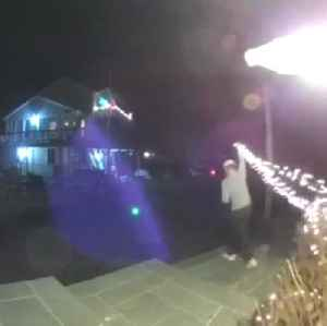 Group of grinches ransack homeowner's holiday decorations [Video]