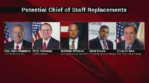Trump Expected To Announce Next Chief Of Staff [Video]