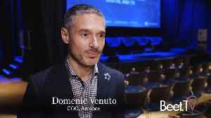 """""""We will be an advertising platform for the converged world,"""" Amobee COO Domenic Venuto [Video]"""