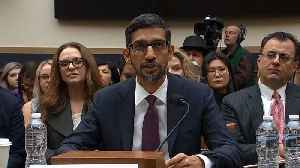 Raw Video: Google CEO Sundar Pichai Opening Statement To House Judiciary Cmte. [Video]