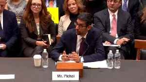 News video: Google CEO Pichai Questioned On Russia During Testimony On Capitol Hill