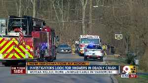 Investigators look for answers in deadly crash [Video]