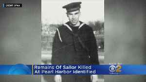 News video: Remains Of Sailor Killed At Pearl Harbor Identified