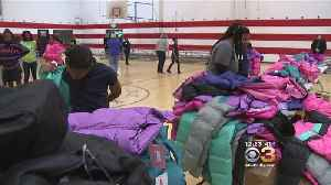 Philly Students Receive Brand New Winter Coats Courtesy Of 'Operation Warm' [Video]