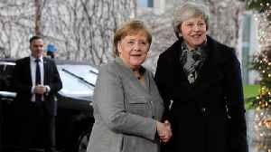 News video: Germany's Angela Merkel Ends Brexit Negotiations