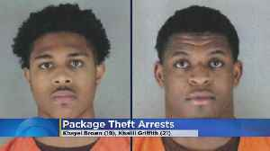 2 Men Accused Of Stealing 22 Packages From Doorsteps [Video]