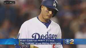 Cashman Makes It Clear: Yankees Want Machado [Video]