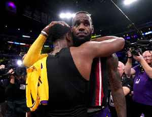 LeBron James Tops Dwayne Wade in Their Final NBA Game Together [Video]