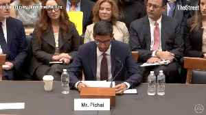 Video Highlights From Google CEO Sundar Pichai Congressional Testimony