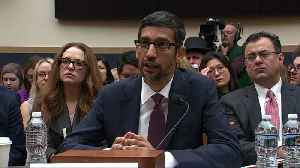 Google CEO on Russian ads, no political bias [Video]