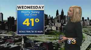 Tuesday Evening Forecast: Snow Showers Possible Thursday [Video]