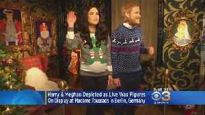 Harry & Meghan Depicted As Live Wax Figures [Video]