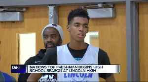 Nations top freshman growing his game right at home [Video]