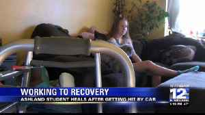 Ashland Teen Recovering After Being Struck by Car [Video]