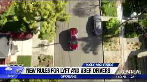Spokane City Council approves new rules for Lyft, Uber drivers [Video]