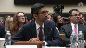 Google CEO Faces Congress [Video]