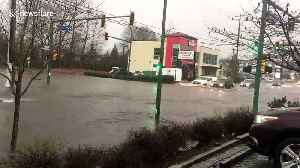 Streets flooded as heavy rains pound Metro Vancouver [Video]