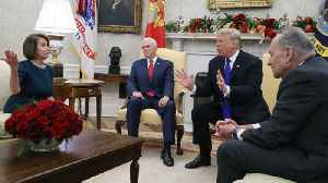 Trump clashes with Pelosi & Schumer over border security [Video]