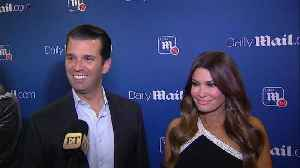 Donald Trump Jr. and Kimberly Guilfoyle on Spending Their First Christmas Together (Exclusive) [Video]