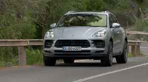 The new Porsche Macan S in Silver Driving Video [Video]